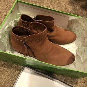 Sam Eldelman- Saddle Leather Booties